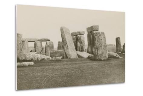 Stonehenge--Metal Print