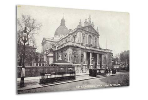 London Oratory: Exterior--Metal Print