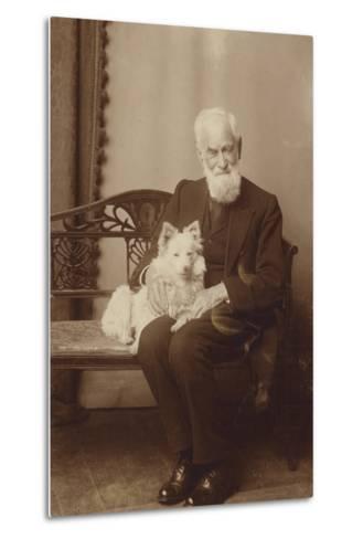 George Bernard Shaw--Metal Print