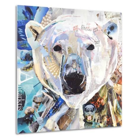 Polar Bear-James Grey-Metal Print