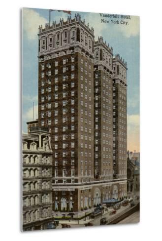 Vanderbilt Hotel, New York City, Usa--Metal Print