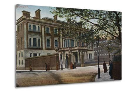 Hertford House in Manchester Square--Metal Print