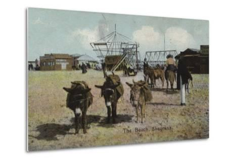 The Beach, Skegness, Lincolnshire--Metal Print
