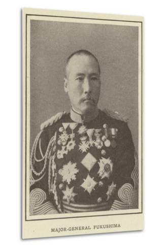 Major-General Fukushima--Metal Print