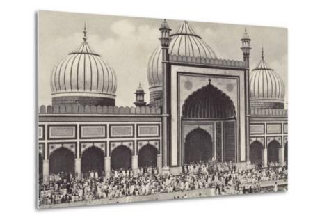 The Jumma Musjid, Delhi--Metal Print