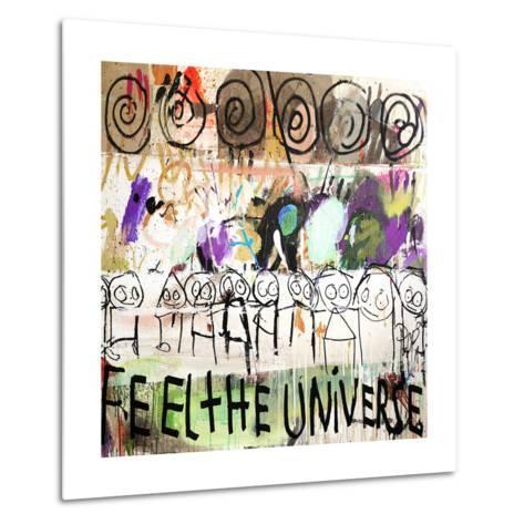 Feel the Universe-Poul Pava-Metal Print