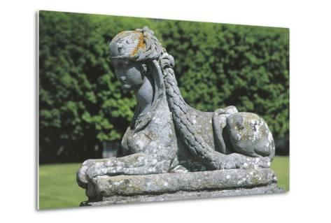 France - ?le-De-France - Palace of Fontainebleau--Metal Print