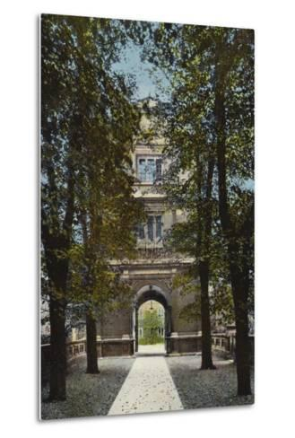 Gonville and Caius College, Gate of Virtue--Metal Print
