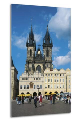 Czech Republic, Prague, Old Town--Metal Print