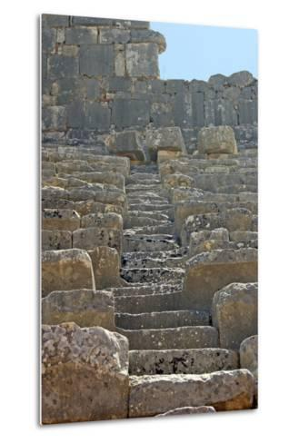 Steps of the Xanthos Theatre, Xanthos, Turkey--Metal Print