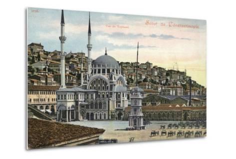 View of Tophane, Constantinople, Turkey--Metal Print