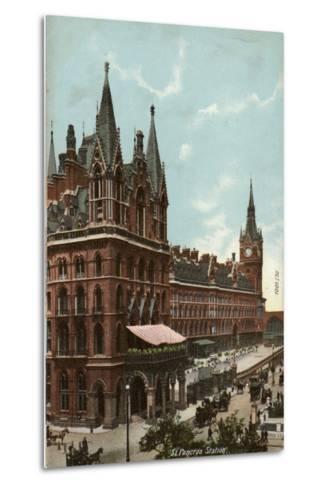 St. Pancras Station, London--Metal Print