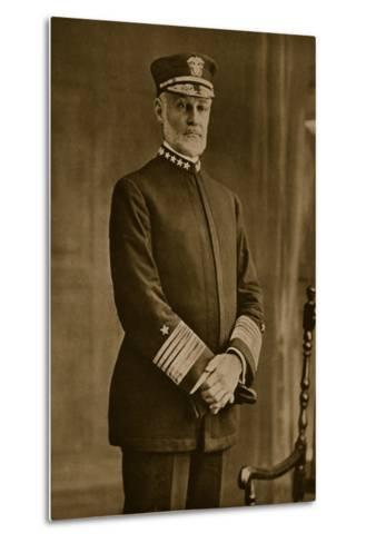 Admiral William Sowden Sims, 1914-19--Metal Print