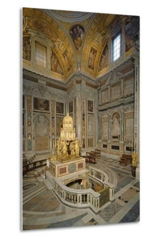 Crypt of the Nativity--Metal Print