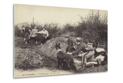 Ambush at the Frontier, World War I--Metal Print