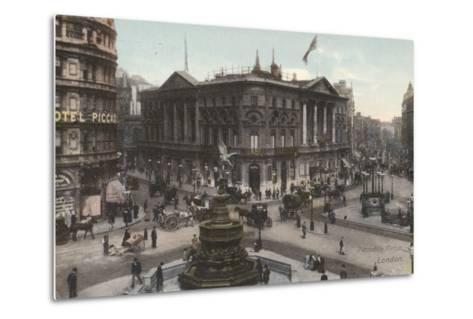 Piccadilly Circus, London--Metal Print