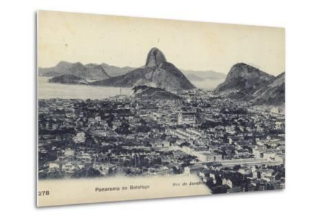 Botafogo; Rio De Janeiro, Brazil--Metal Print