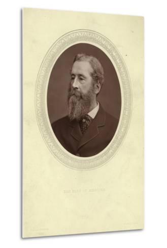 Portrait of James Hamilton, Duke of Abercorn--Metal Print