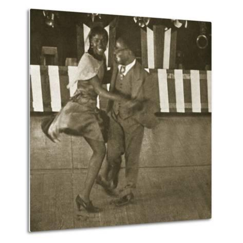 Dancing Contest, Harlem, New York, 1930--Metal Print