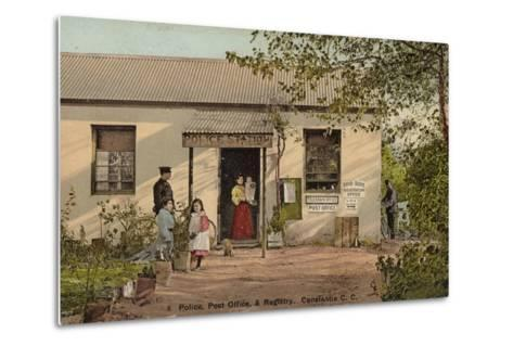 Postcard Depicting Constantia--Metal Print