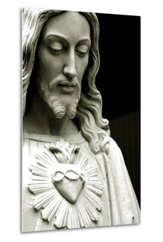 The Sacred Heart of Jesus, 19th Century--Metal Print
