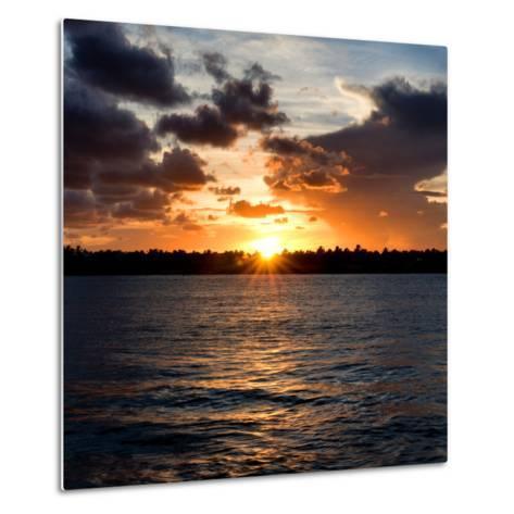 Sunset Key West - Florida-Philippe Hugonnard-Metal Print