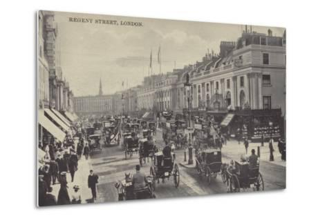 Regent Street, London--Metal Print