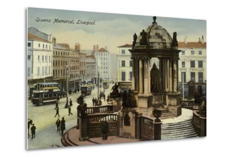 Victoria Monument, Liverpool--Metal Print