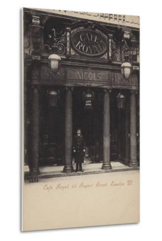 Cafe Royal, 68, Regent Street, London, West--Metal Print