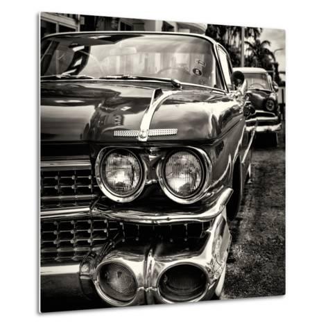 Classic Cars of Miami Beach-Philippe Hugonnard-Metal Print
