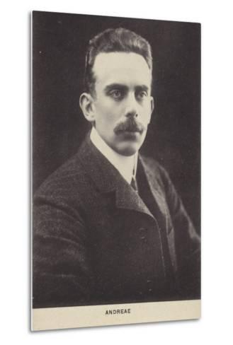 Volkmar Andreae, Swiss Conductor and Composer--Metal Print