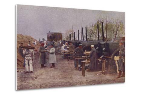 German Field Bakery, World War I, 1914-1915--Metal Print