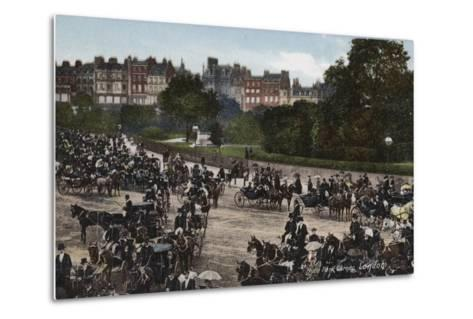 Hyde Park Corner, London--Metal Print
