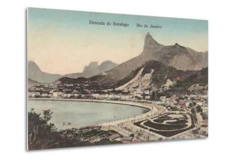 Botafogo Beach, Rio De Janeiro, Brazil--Metal Print