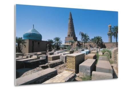 Cemetery Near the Sheikh Omar Al-Sahrawardi Shrine, Baghdad, Iraq--Metal Print