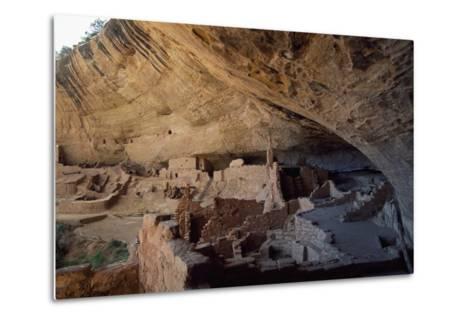 Long House, Mesa Verde National Park--Metal Print