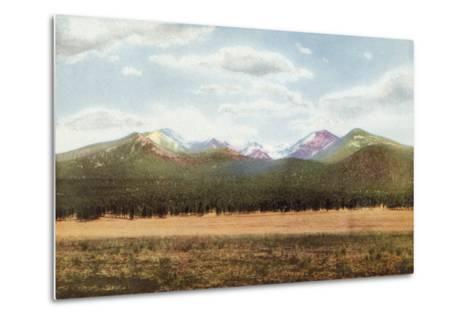 San Francisco Mountains, Arizona--Metal Print