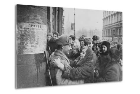 Russian Offensive, Leningrad, 27th January 1944--Metal Print