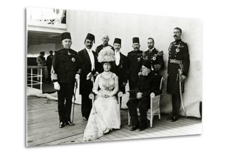 Group at Port Said, 1911--Metal Print
