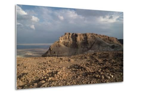 View of Masada--Metal Print