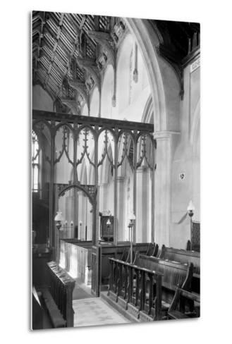 St. Agnes Church, Cawston-Frederick Henry Evans-Metal Print