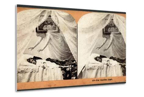 """""""Her Guardian Angel""""--Metal Print"""