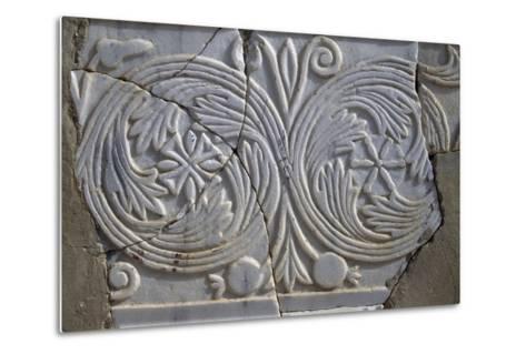 Bas-Relief in Avdat--Metal Print