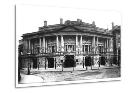 Queen's Hall in Langham Place, London, 1896--Metal Print