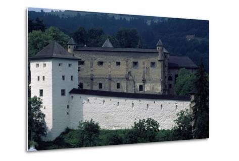 Banska Stiavnica's Old Castle--Metal Print