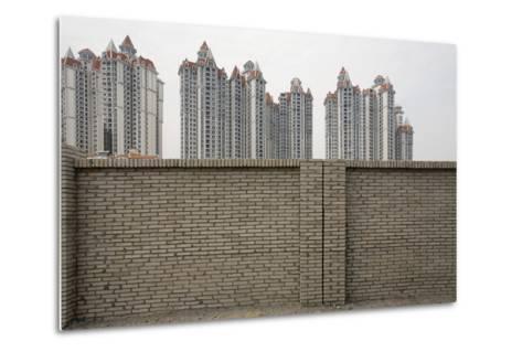 Jinxiu Silver Bay, Guangzhou, China--Metal Print