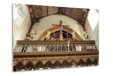 Rood Screen, Loft and Vault, Church of St Peter and St Paul, Eye, Suffolk--Metal Print