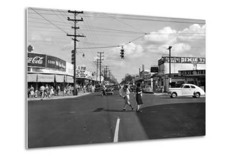 Allapattah Boulevard--Metal Print
