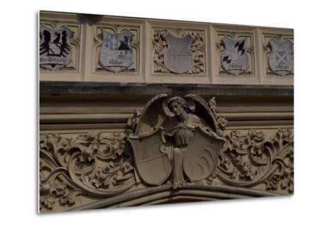 Relief Decoration, Detail from Lednice Castle--Metal Print