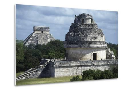 Observatory or El Caracol, Chichen Itza--Metal Print
